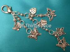 Bag Charm Key Chain Ring Clasp BUTTERFLY KINGDOM Dangle Fashion Jewellery