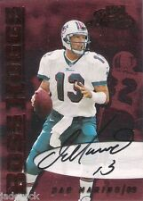 Dan Marino 2000 Playoff Absolute Boss Hoggs Signature Authentic Auto graph 1/200