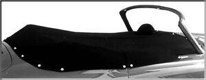 Tonneau Cover, Haartz Vinyl in Black, Porsche 356 Speedster (55-58)