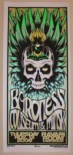 2008 Baroness & Coliseum - Silkscreen Concert Poster S/N by Martin