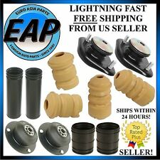For BMW 3 Series Front Rear Strut Shock Bearing Mount Bump Stop Dust Cover Kit