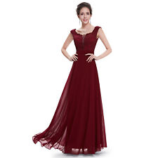 UK Long Elegant Formal Evening Party Dress Cocktail Prom Gown 08628 Ever-pretty