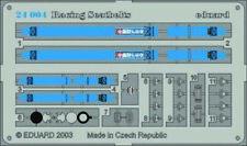Eduard Accessories 24004 Sitzgurte SPARCO 4 Points blau Blue In 1 24
