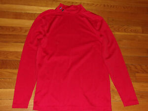UNDER ARMOUR COLDGEAR LONG SLEEVE MOCK COMPRESSION JERSEY MENS XL EXCELLENT