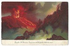 Paquebot Cancel, 1904 Port Said on Vesuvius PPC to Hanes, Faith St Maidstone, GB