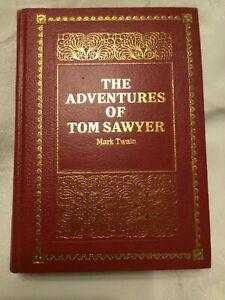 The Adventures of Tom Sawyer Mark Twain Hardback Purnell de luxe classic 1975