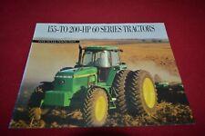 John Deere 4560 4760 4960 Tractor Dealer's Brochure DCPA11