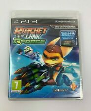 PS3 Ratchet & Clank Q Force (2012), UK Pal, Brand New & Factory Sealed, Flawed