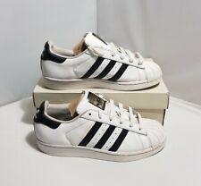 Adidas Superstar Size 5.5 UK White Youth Kids Unisex Leather Trainers C77154
