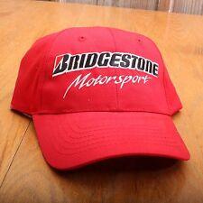 Bridgestone Motorsport Baseball Cap Hat Adjustable SnapBack One Size