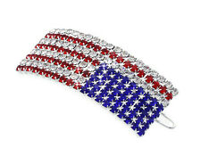 4th of July US American Flag Patriotic Hair Pin Clip Independence Day Gift