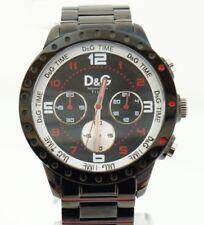 D&G time CHRONO 5 ATM DW0192 reloj watch fashion steelCRONÓGRAFO