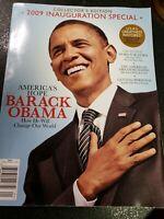 Barack Obama Magazine Inauguration Special White House Collectible Politics
