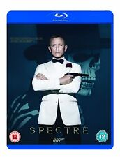 007: Spectre - Blu-Ray Movie [Region Free, James Bond, Action, Spy-Thriller] NEW