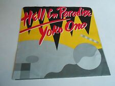 Yoko Ono Hell In Paradise Vinyl 45 RPM Record Promotional Copy 2 Sides The Same
