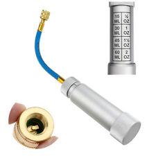 "Oil Injector R134A 2oz/60ml Pump Liquid Injection Car A/C 1/4"" Female Adapter"