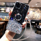 For Samusng Note 9/10/10+/20/20 Ultra Ring Holder Bling Diamond Women Girly Case