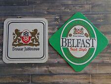 Beer Coaster <^> Browar JABLONOWO Belfast Irish Style ~*~ Wólka Kosowska, POLAND