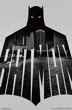 (LAMINATED) BATMAN CITY TEXT MOVIE POSTER (57x87cm)  NEW WALL ART