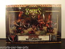 HORDES WARMACHINE SKORNE Battlegroup  Neuf Sous Blister (Style Warhammer)