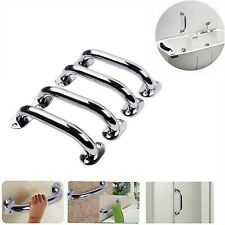 "4X Handle Handrail 9"" Grab Bar S/S Bathroom Handicap Hand Wall Rail Boat Safety"