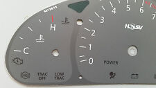 VT VX Holden Commodore 250kmh HSV Grey Dial Dash Fascia suits SS WH & VU Ute