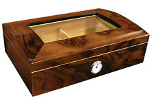ADDISON Cigar HUMIDOR Mahogany - Holds up to 75 Cigars