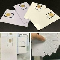 2021 Phone White Unlock Sim Chip for iPhone 12 11 X XS Max XR 8 7 SE Reuse UK