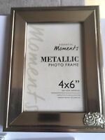 Cluster Cloud TG260 Pewter On PICTURE PHOTO FRAME SILVER 6X4 Hang/Stand
