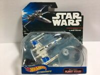 2015 HOT WHEELS STAR WARS RESISTANCE X-WING FIGHTER-W/FLIGHT STAND-NEW!