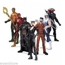 DC Comics The New 52 Super Heroes vs. Super Villains Action Figure 7-Pack-New