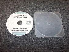 1999 Dodge Caravan Van Shop Service Repair Manual DVD SE LE 2.4L 3.0L 3.3L V6