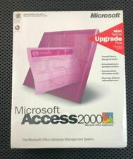 MICROSOFT ACCESS 2000 DATABASE MANAGEMENT SYSTEM NEW SEALED