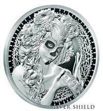 "2017 Silver Shield La Muerte del Dólar Proof - #10 in ""Death of Dollar"" Series"