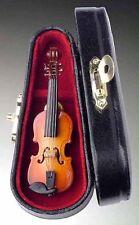 "Miniature Violin Pin Musical Instrument Replica, 3"" Long, Superb Detail"