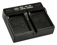 BM EN-EL14 Dual Battery Charger for Nikon D3100, D3200, D3300, D3400, D3500, DF