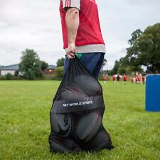 Rugby Ball Carry Bag - Strong Mesh Equipment Holdall - [Net World Sports]