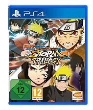 Ps4-Naruto Shippuden: Ultimate Ninja Storm Trilogy - (nuevo con embalaje original)