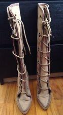 Alexander McQueen Tie Up Boots