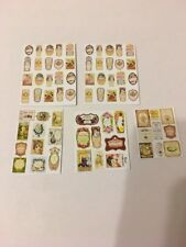 Mixed Set Of Perfume Labels For A 1/12 Scale Dolls House