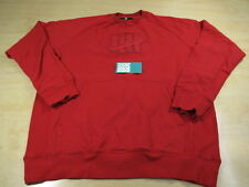 UNDEFEATED 5 STRIKES LOGO CREWNECK SWEATER RED XL UNDFTD PACK BOX LOGO