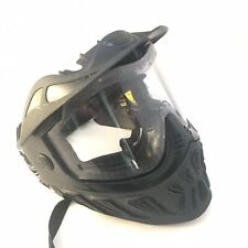 Paintball Mask JT Paintball Reaper Goggles Black Clear Lens Used Sports Eyewear