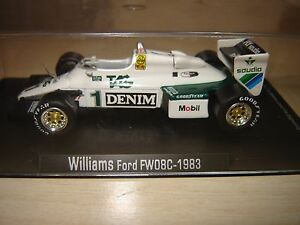 WILLLIAMS FORD FW 08C  (1983) 1:43