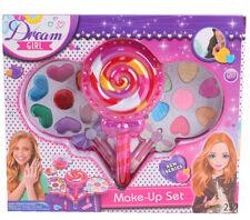 Girls Makeup Set Kit Palette Kids Play Glitter Eyeshadow Pretend Play Vanity