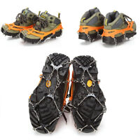 Ice Snow Shoes Spike Grip Boots Chain Crampons Grippers 8-teeth Point Anti Slip