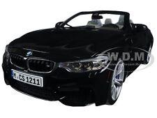 BMW M4 CABRIO BLACK 1/18 DIECAST MODEL CAR BY PARAGON 97112