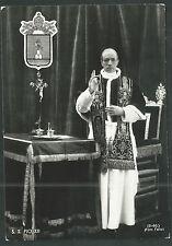 Postal antigua del Papa Pablo VI andachtsbild santino holy card santini