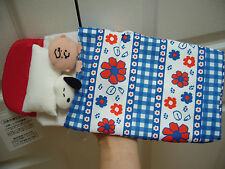 BRAND NEW SNOOPY AND CHARLIE BED TISSUE COVER FROM JAPAN