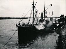 Près ST-NAZAIRE c. 1910 - Bateau Vapeur GAULOIS sur La Loire - Div 12173