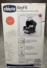 NEW Chicco KeyFit Encore Infant Car Safety Carrier Seat with Base